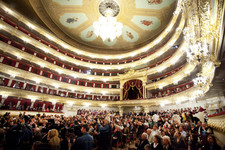 Bolshoi theatre Main (Historic) Stage - The Auditorium (Hall) Click to enlarge