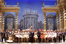 Bolshoi Ballet company on the stage of Bolshoi theatre Main (Historic) Stage Click to enlarge